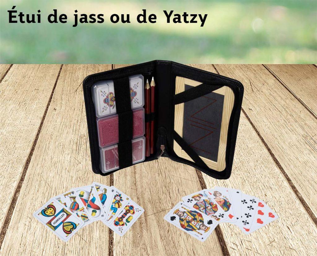 Étui de jass ou de Yatzy