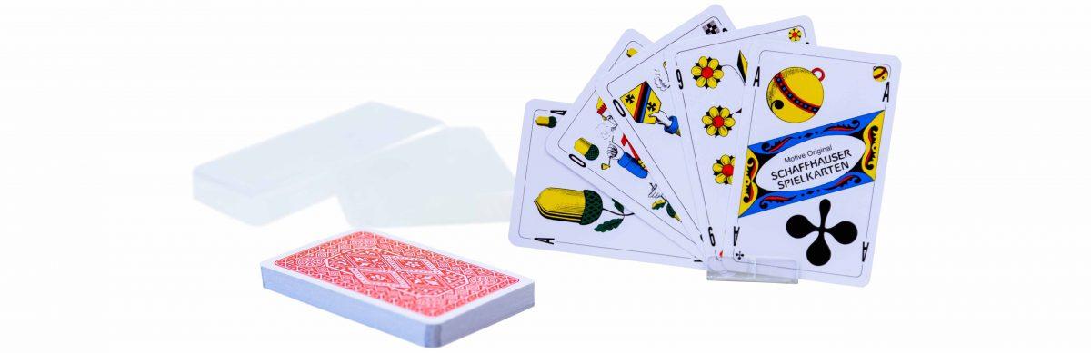 Kombi Jass und Piquetkarten