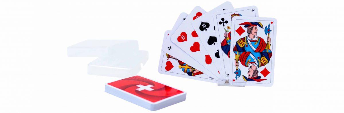 Schweizer Kreuz Piquetkarten