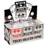 Texas Hold'em silver PVC Jumbo Face | Art.-Nr.: 104008328