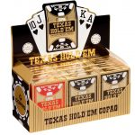 Texas Hold'em gold PVC Jumbo Face | Art.-Nr.: 104006338