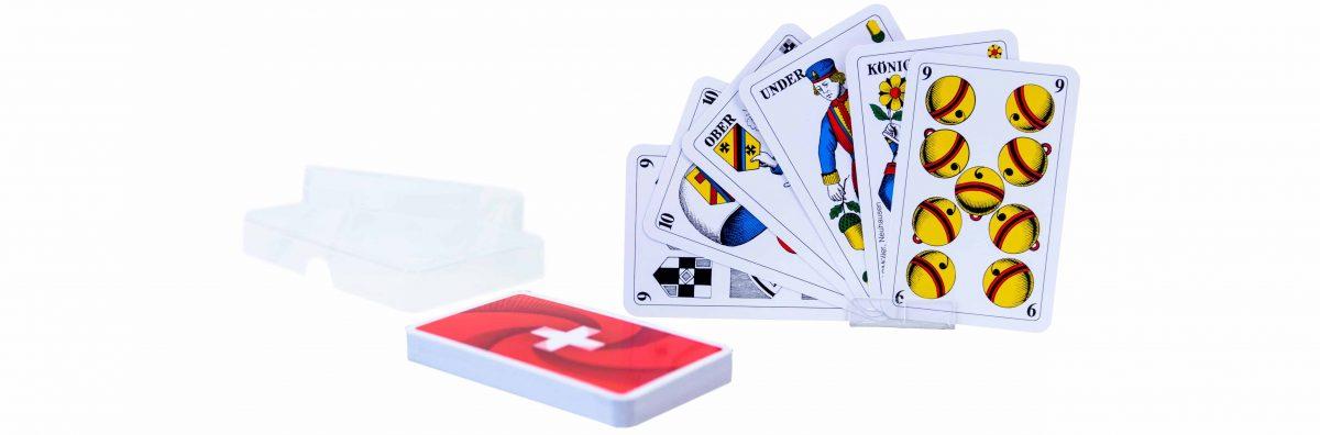 Schweizer Kreuz Jasskarten