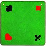 Jassteppich Piquet Grün | Art.-Nr.: 3A014342OE