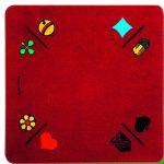 Jassteppich Jass/Piquet Rot | Art.-Nr.: 3A014360OE
