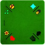 Jassteppich Jass/Piquet Grün | Art.-Nr.: 3A014361OE
