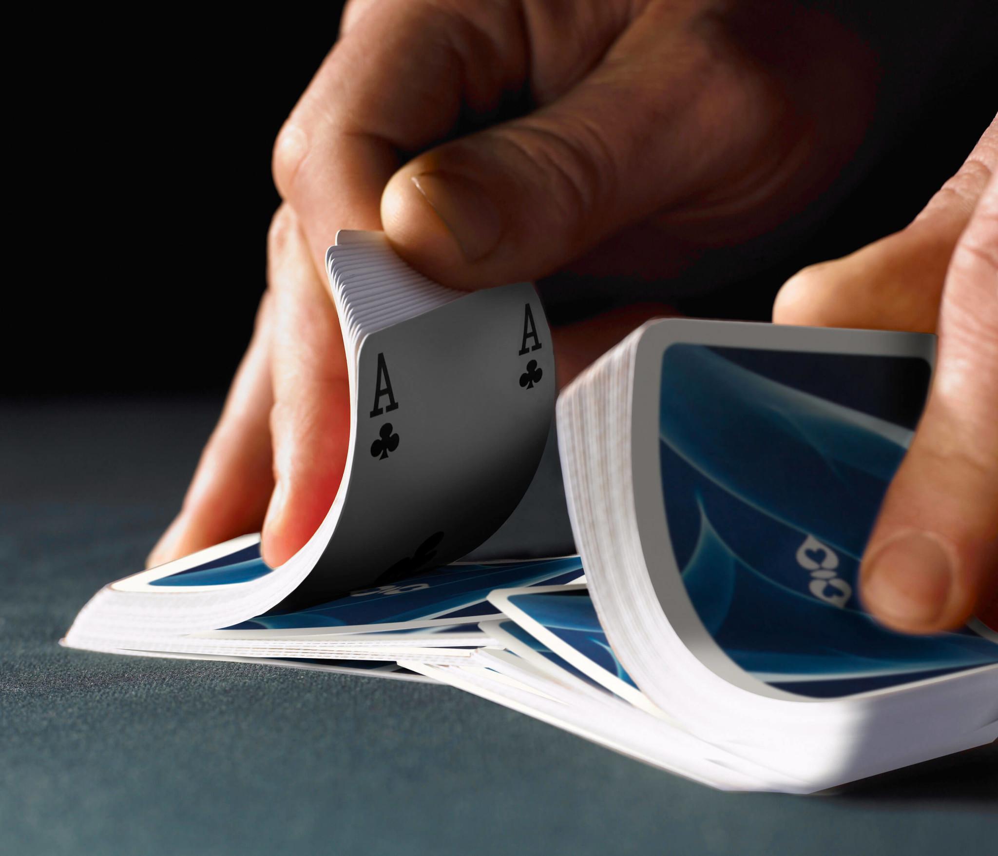 Ace Spielkarten Blau