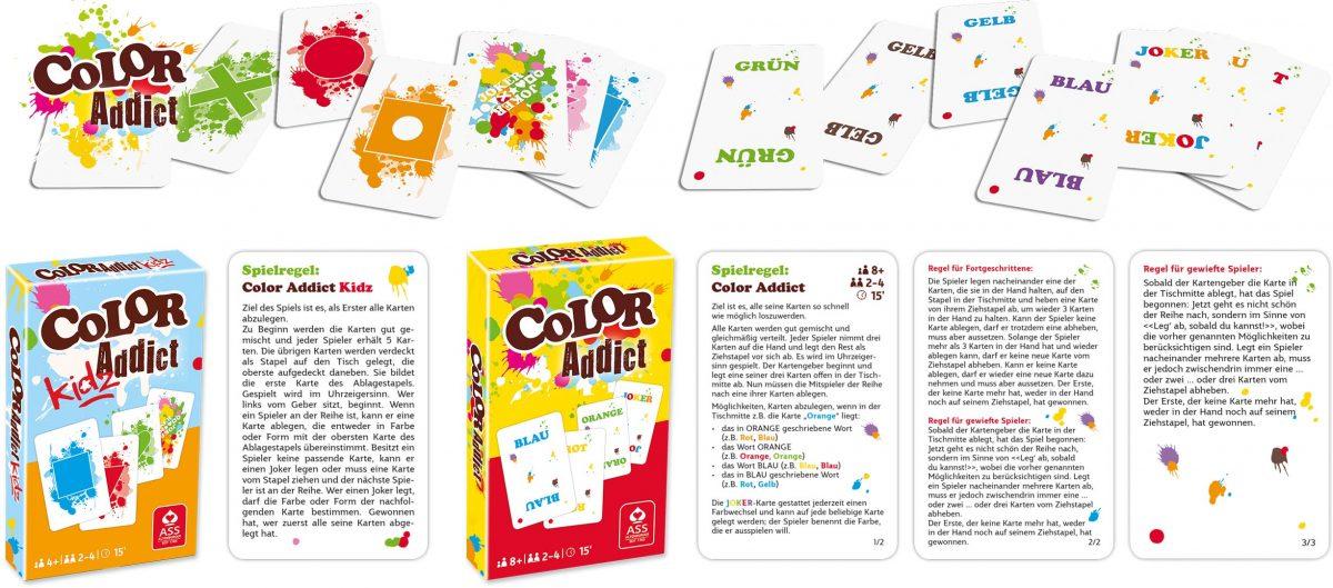 Color Addict - Werbe-Spiel