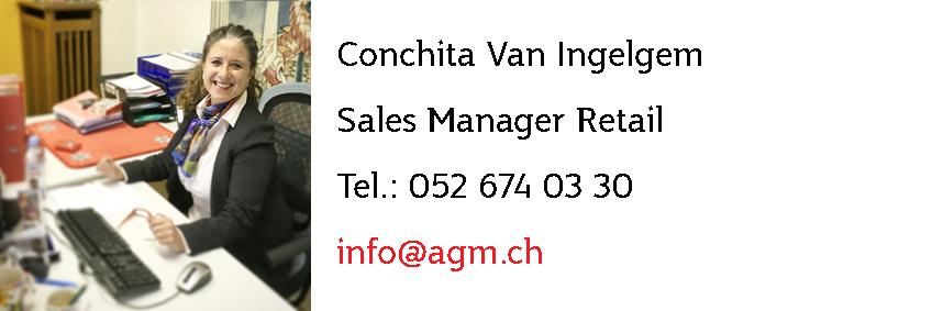 Conchita Van Ingelgem - Verkaufsleitung Jasskarten