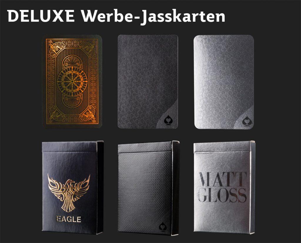 DELUXE Werbe-Jasskarten