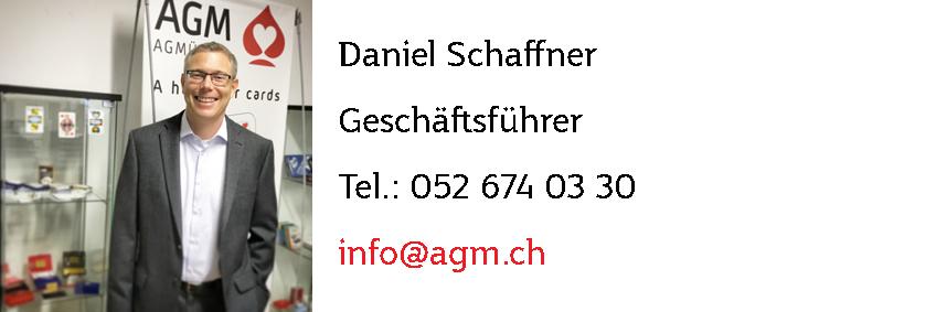 Daniel Schaffner - Jasskarten Geschäftsleitung