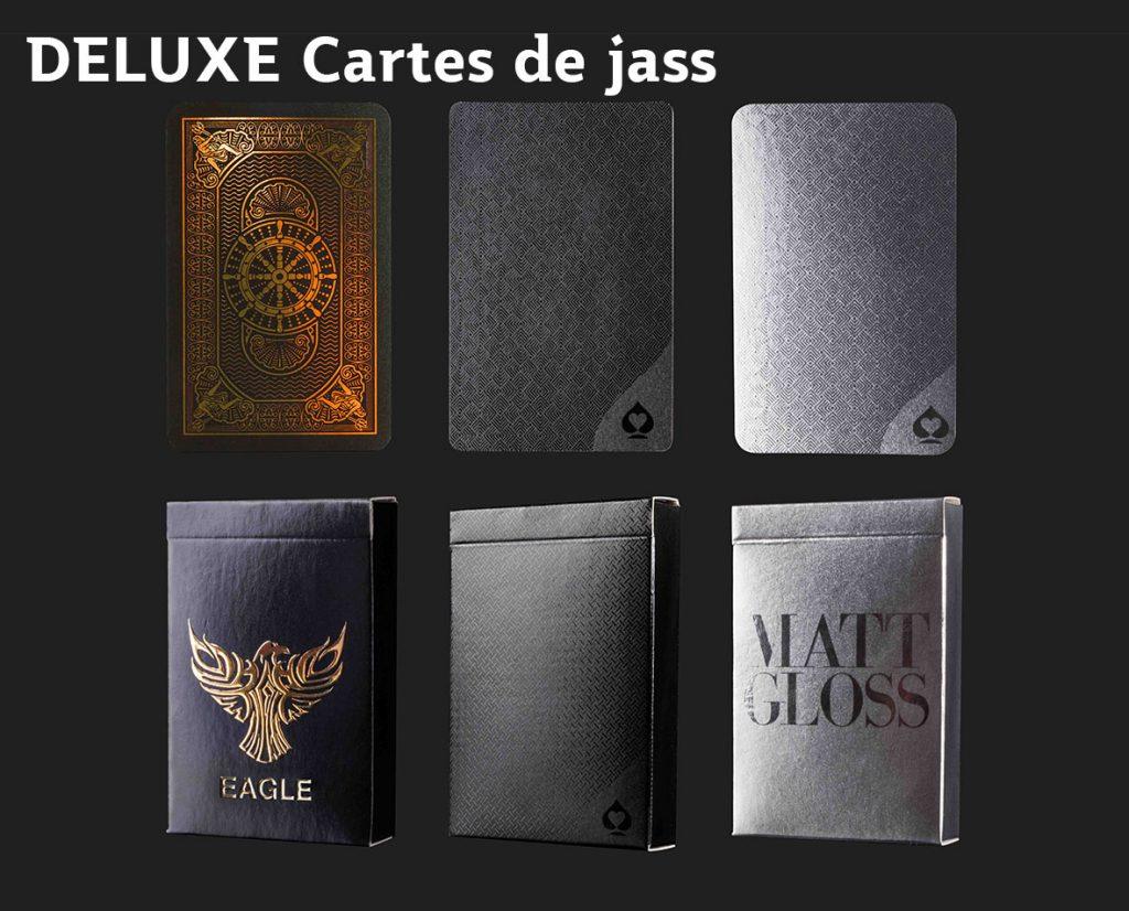 Deluxe Cartes de jass promotionnelles