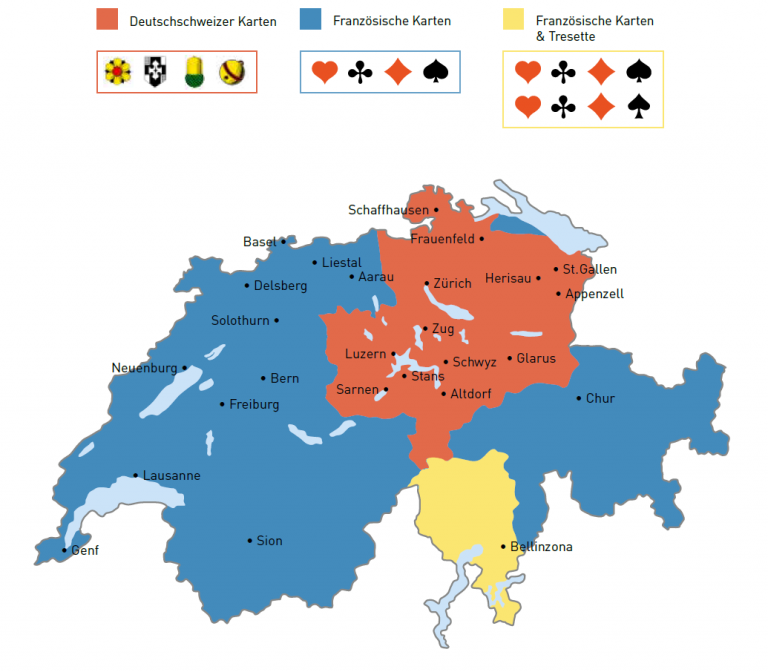DieSchweizer Jass-Landschaft