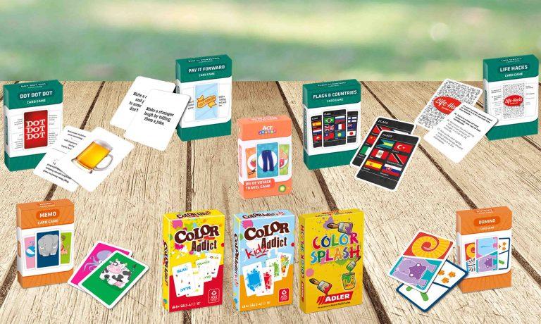 Familien-Karten-Spiele