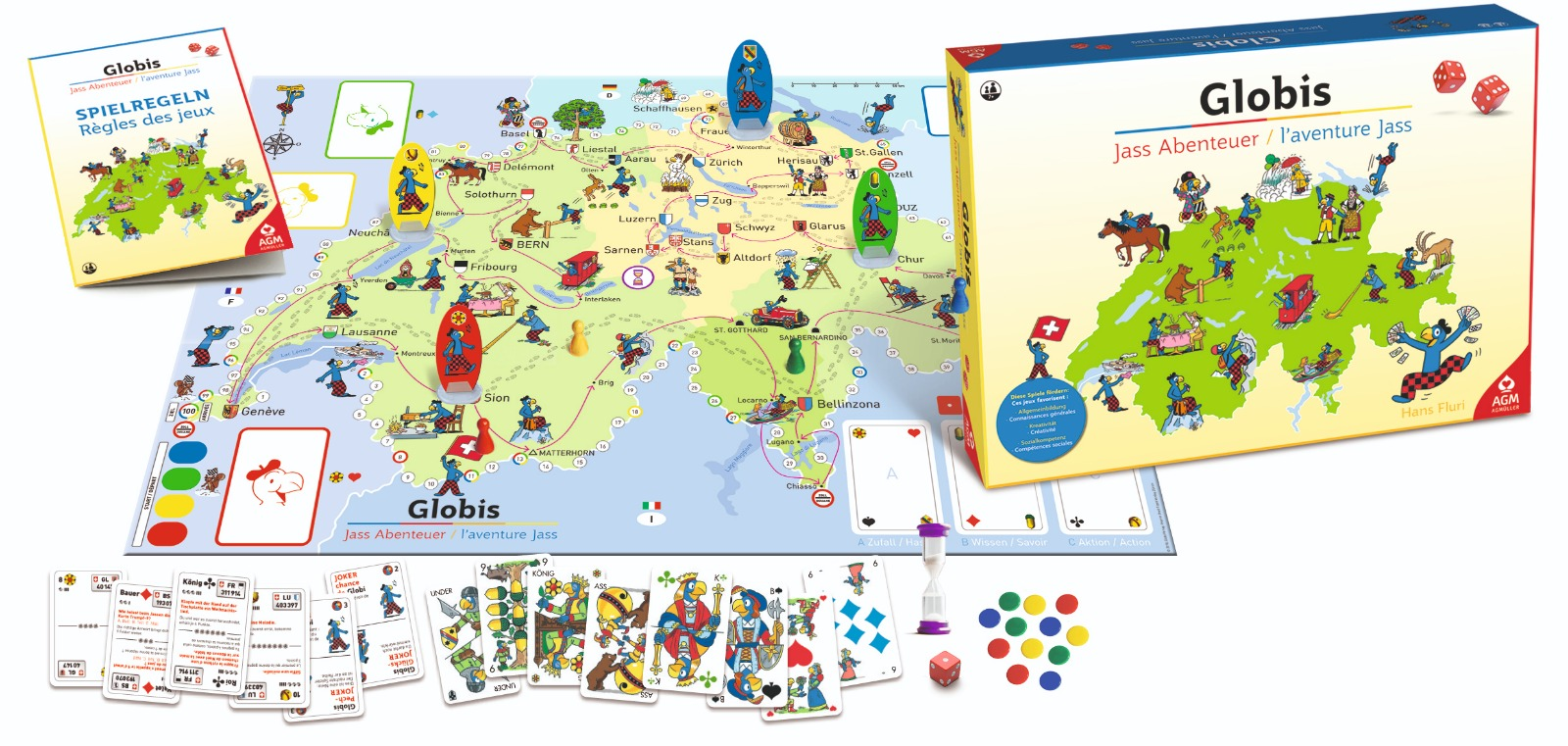 Globis Jass Abenteuer Spiel