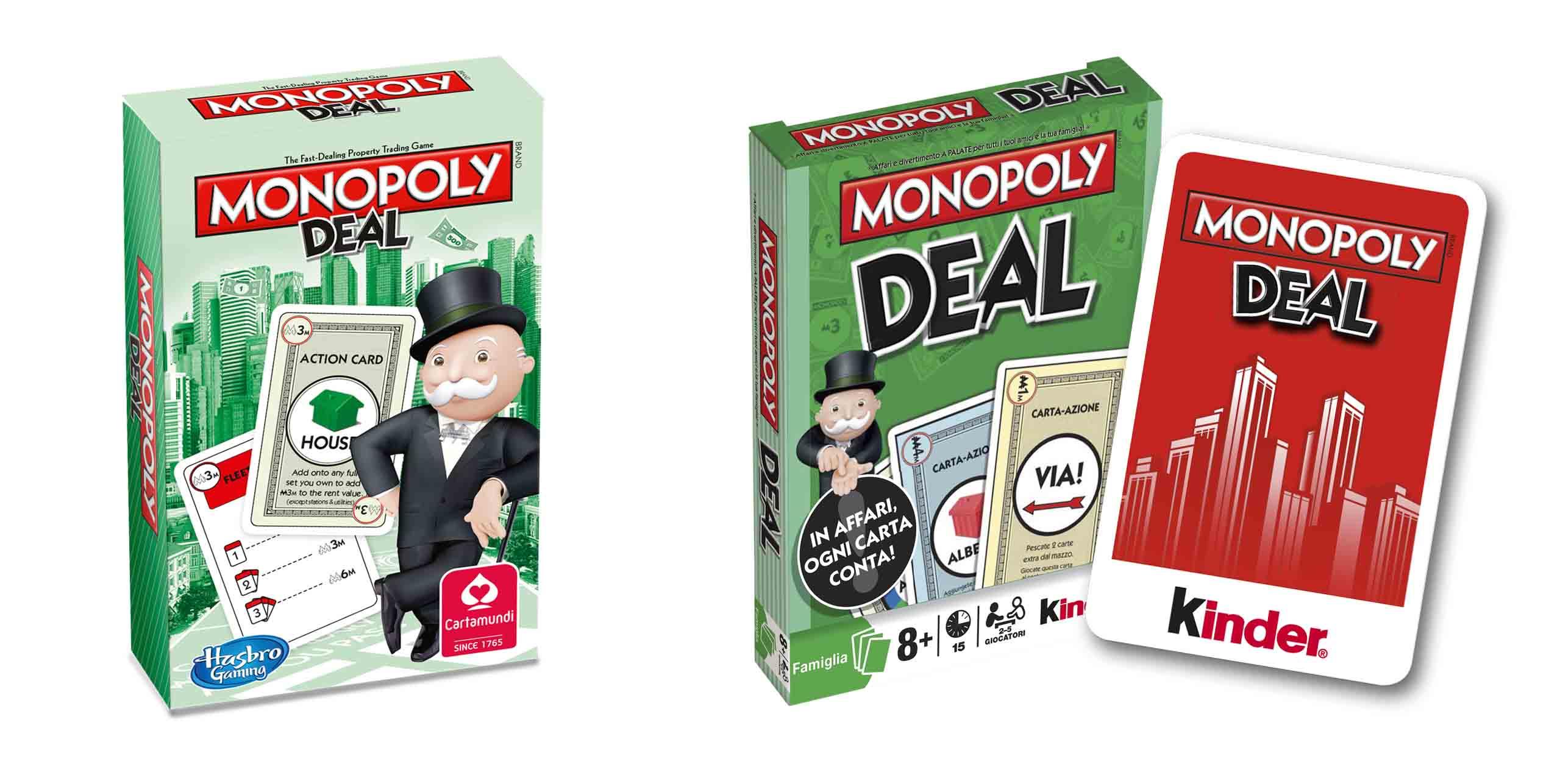 Monopoly Deal + Referenzen