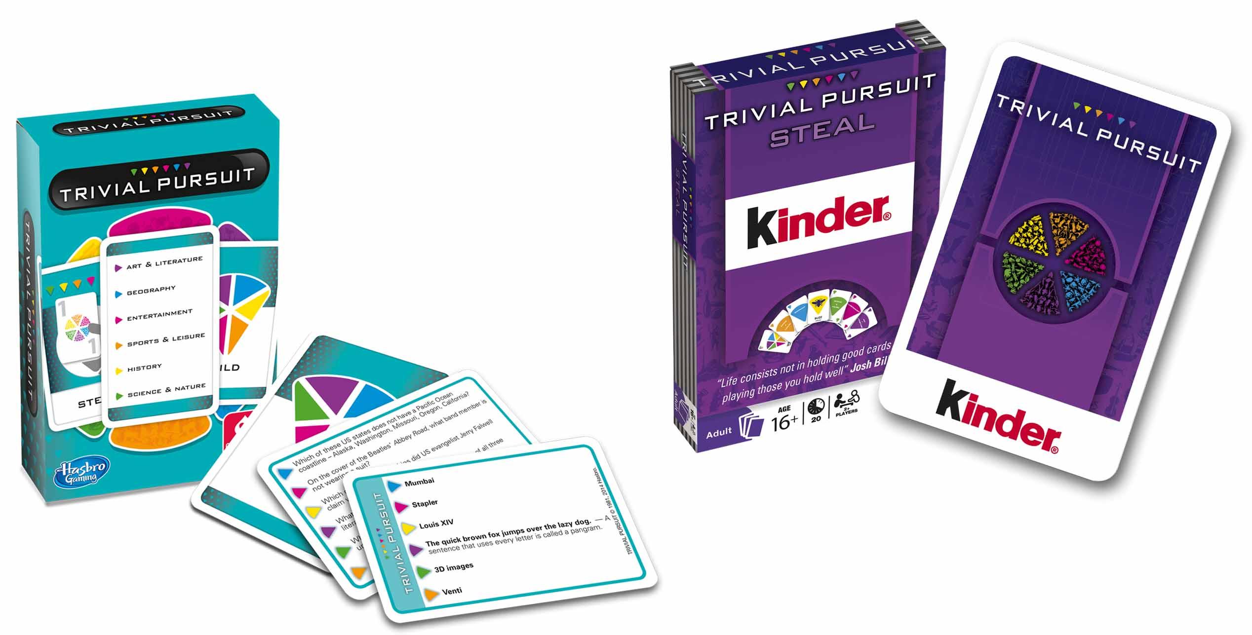 Trivial Pursuit + Referent