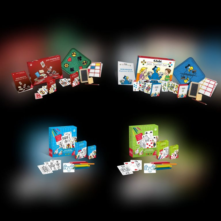 Jasskarten Starter-Sets