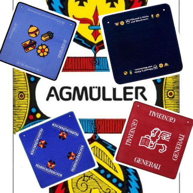 Jassteppiche - Referenzen AGMüller Jasskarten