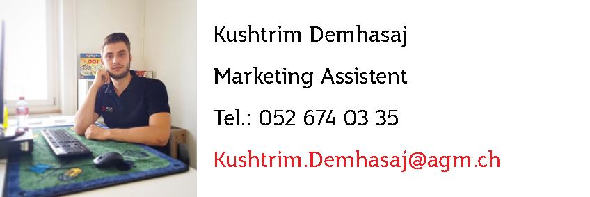 Kushtrim Demhasaja - Jasskarten für Promotionen