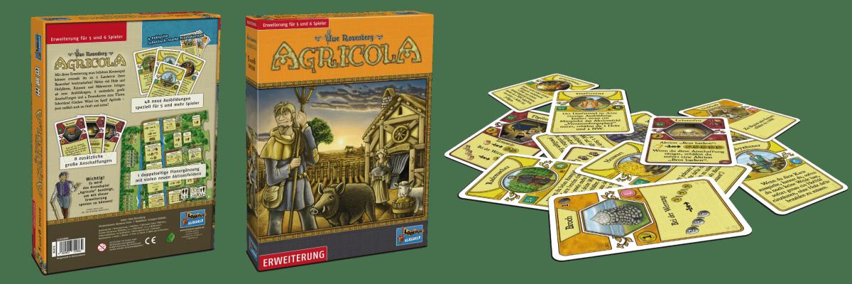 Lookout Spiele - Agricola Erweiterung 5-6 Spieler