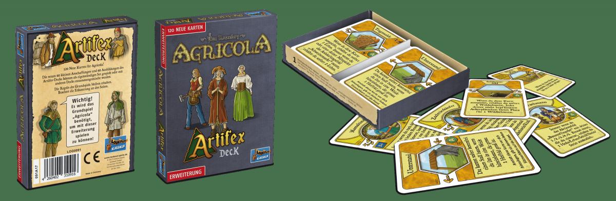 Lookout Spiele - Agricola Erweiterung Artifex