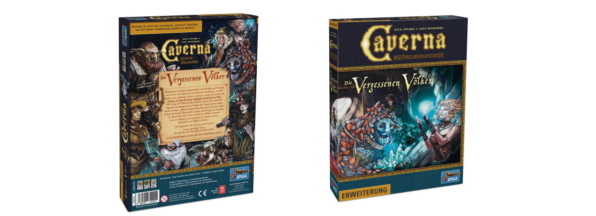 Lookout Spiele - Caverna Erw. die vergessenen Völker-min