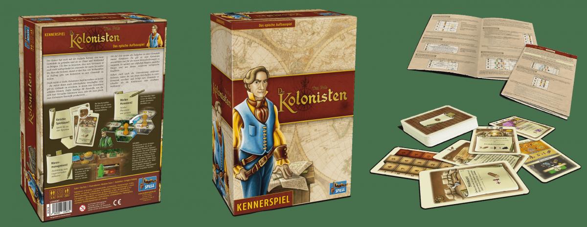 Lookout Spiele - Die Kolonisten-min