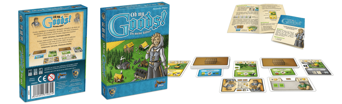 Lookout Spiele - Oh My Goods!-min