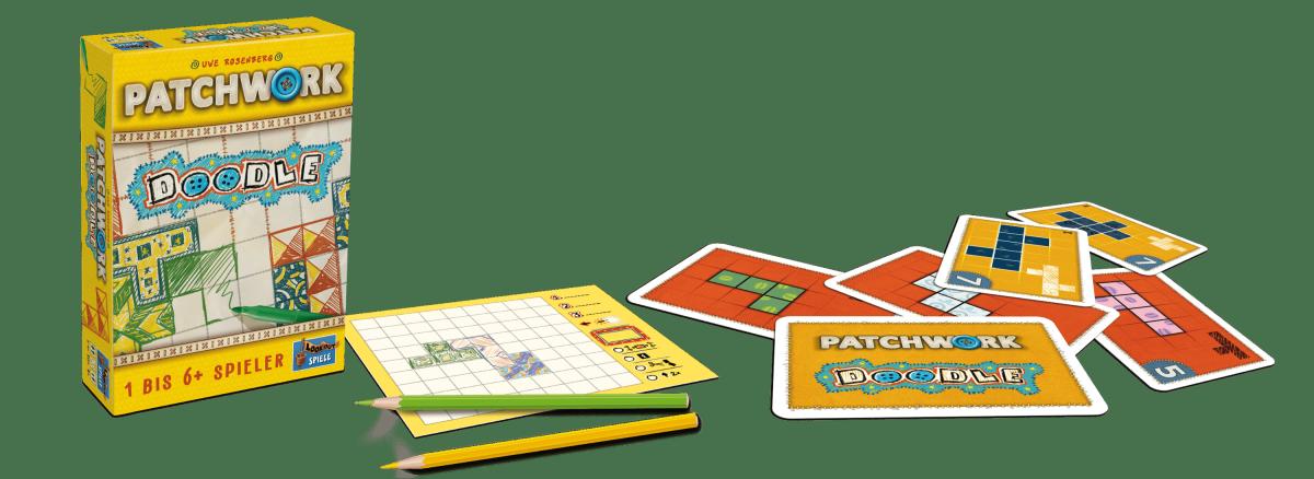 Lookout Spiele - Patchwork Doodle-min