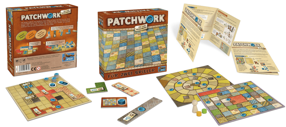 Lookout Spiele - Patchwork-min