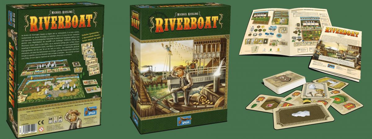 Lookout Spiele - Riverboat-min