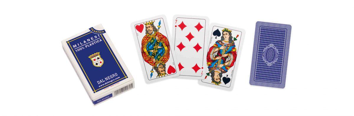 Milanesi Spielkarten Blau - 1066012250