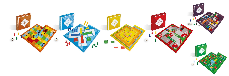Mini-Brettspiele für Ihre Werbung