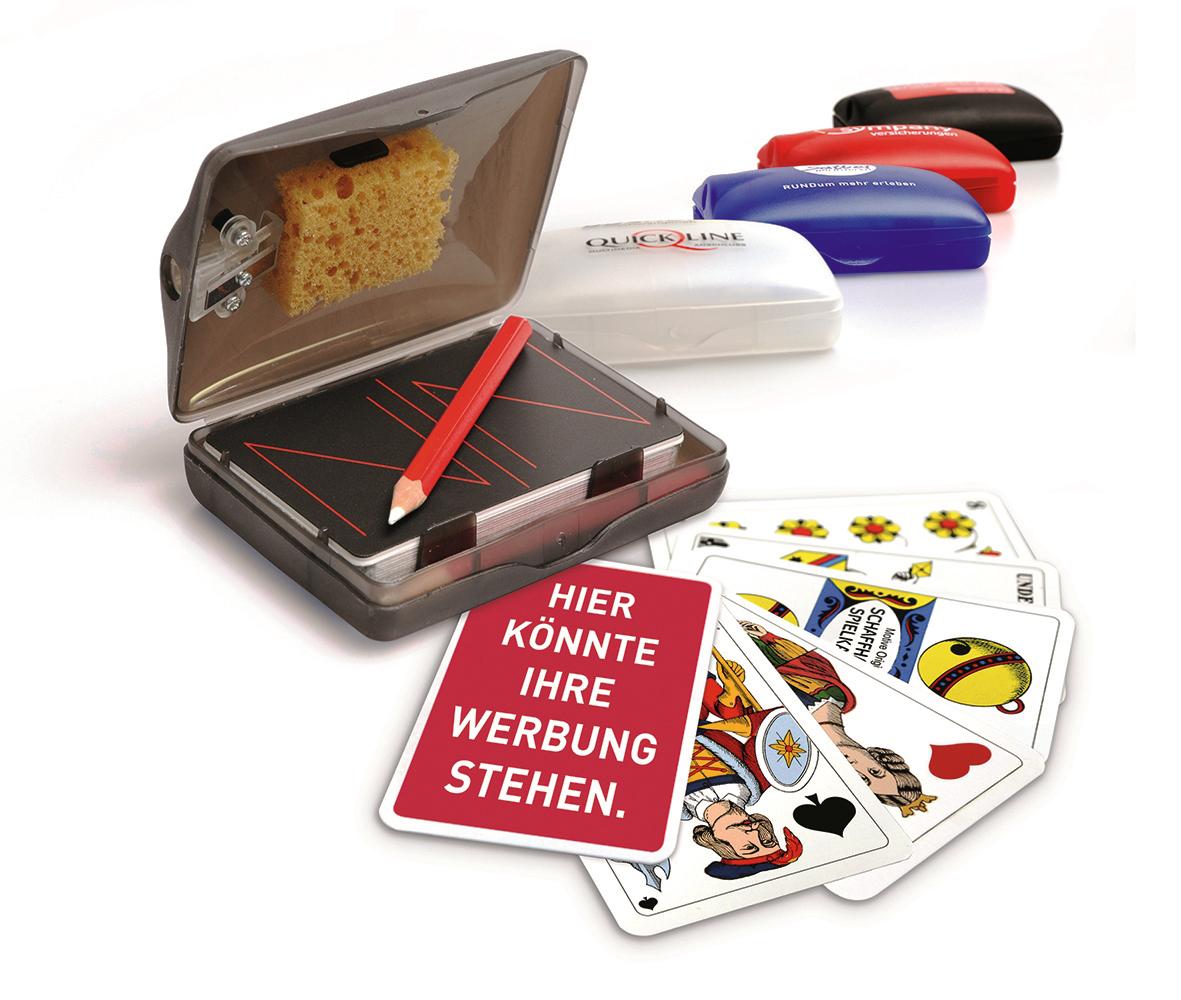 Jassbox mit Original Jasskarten