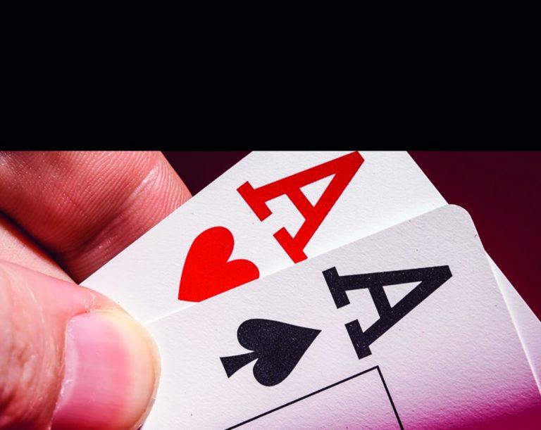 Poker-Spiel-Karten