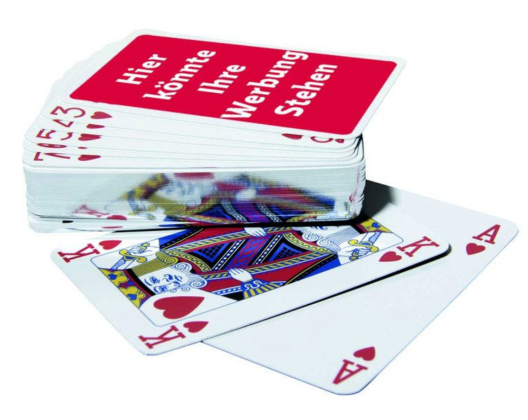 Werbe-Poker