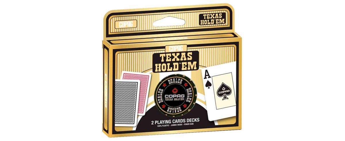 Texas hold'em Gold PVC