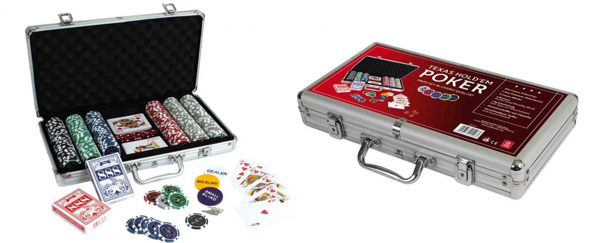 Texas hold'em Poker Koffer